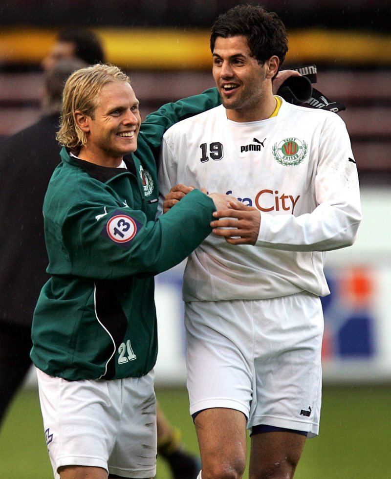 Hejazi hadde stor suksess i Sverige med Väsby United. Foto: AFTONBLADET