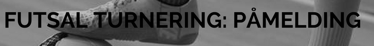 FUTSAL TURNERING- PÅMELDING