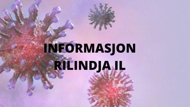 Koronaviruset, oppdatert informasjon